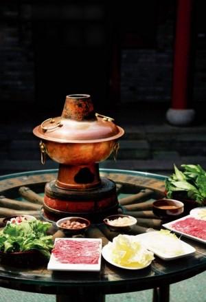 La fondue mongole ou Pékinoise