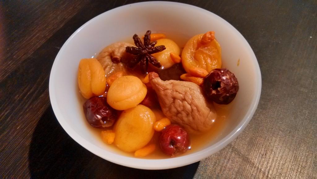 fondue chinoise aux fruits